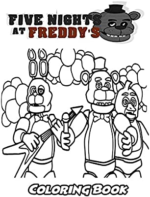 Top 20 Printable Five Nights at Freddy's Coloring Pages - Online ...   400x303