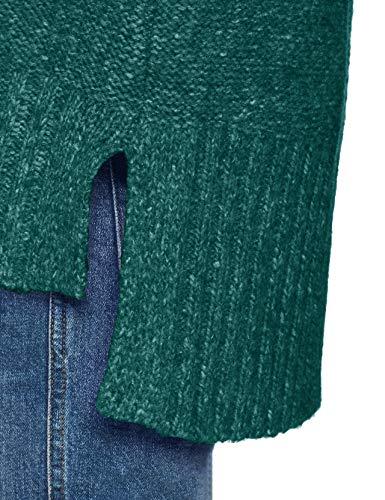 dark 5 Esprit 379 Mujer Suéter Verde Green Para Teal UUH0I
