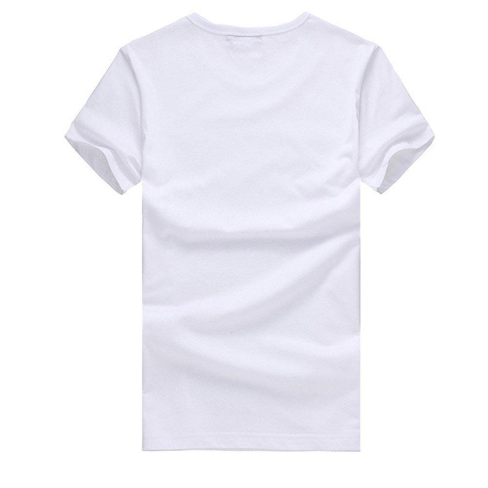 Amazon.com: YKARITIANNA Big Promotion! 2019 Men Printing Tees Shirt Short Sleeve T Shirt Cotton Casual Blouse
