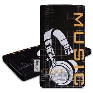Stilbag Funda 'MIKA' para Sony Xperia Z1 compact - Diseño: Headphones