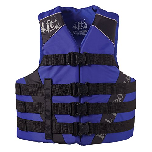 Throttle Marine (Full Throttle Adult Nylon Water Sports Vest, Blue (L/XL))