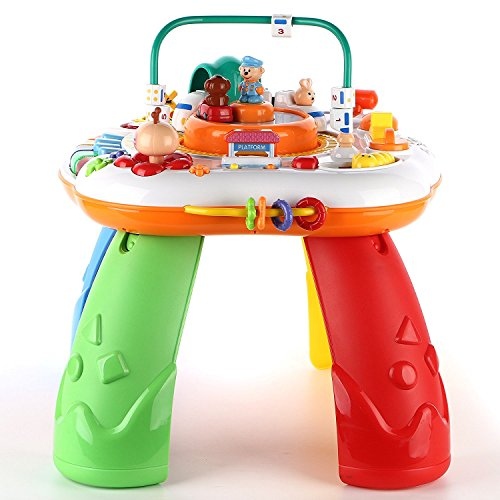 Electronic Toys For One Year Olds : Baby activity standing play table infant toys electronic