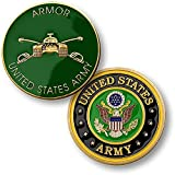 us army tanks - U.S. Army Armor Challenge Coin