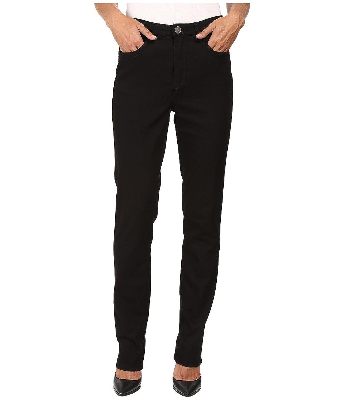 FDJ French Dressing Jeans Women's Supreme Denim Suzanne Slim Leg in Black Black Jeans