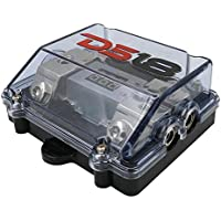 DS18 FDG1024ANLDIG12pk ANL Fuse Holder and Distribution Block 1 x 0/4GA In - 2 x 4/8GA Out with Built in Voltmeter 12 Pack