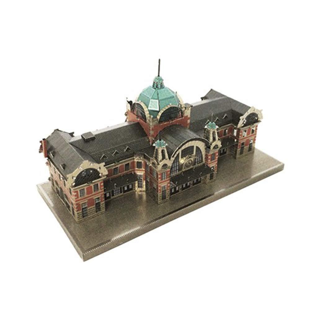 Metal Brick 3D Inno Metal Model Seoul Station