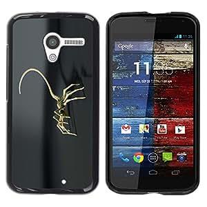 Be Good Phone Accessory // Dura Cáscara cubierta Protectora Caso Carcasa Funda de Protección para Motorola Moto X 1 1st GEN I XT1058 XT1053 XT1052 XT1056 XT1060 XT1055 // Robot Scor