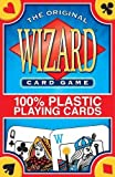 img - for Wizard Card Game 100% Plastic Playing Cards book / textbook / text book