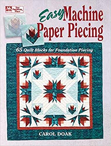 Free Paper Pieced Quilt Patterns Christmas.Easy Machine Paper Piecing 65 Quilt Blocks For Foundation