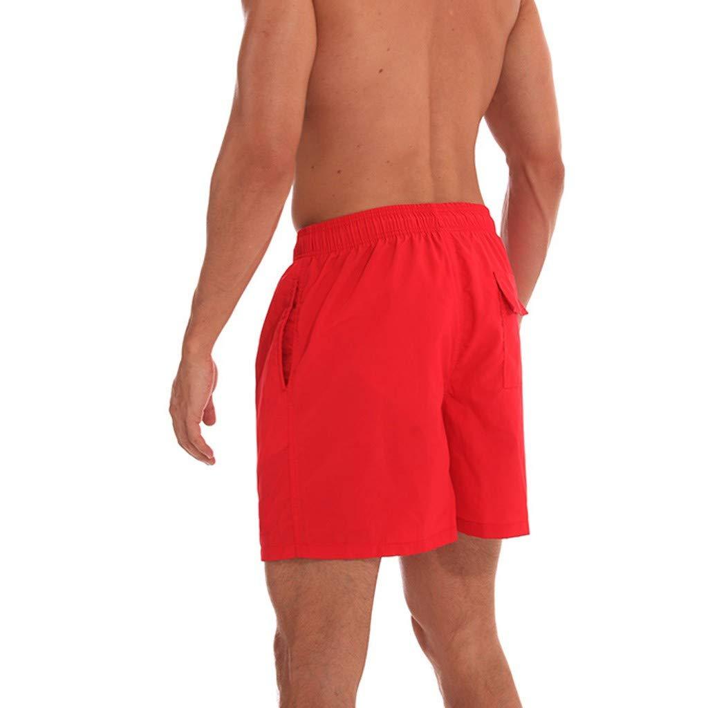 Sports Pants Gym Cargo Beach Shorts Mens Swimwear Running Surfing Sports Plus Size Beach Shorts Trunks Board Pants