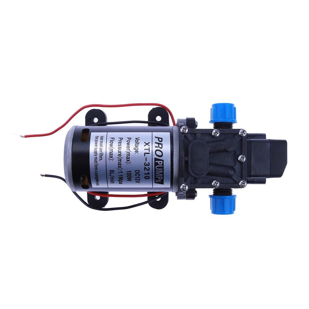 Vipeco High Pressure Water Pump Micro Electric Diaphragm Pump 3210YB 12V 100W