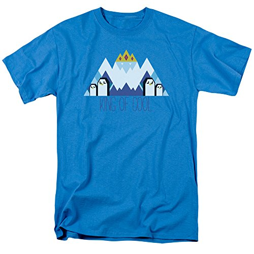 - Adventure Time Men's Ice King Geo T-shirt Large Turquoise
