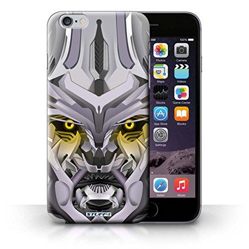 Hülle Case für iPhone 6+/Plus 5.5 / Mega-Bot Gelb Entwurf / Roboter Collection