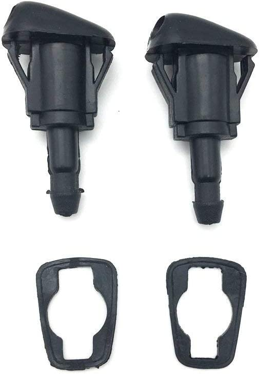 Front Windshield Washer Fluid Spray Jet Nozzle Kit for 1997-2001 Toyota Camry, Replacement Part# 85381-AA010, 2 Pack