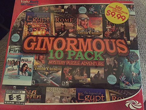 Ginormous 10 Pack Mystery Puzzle and Adventure Games