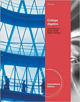 College Algebra (International Edition)