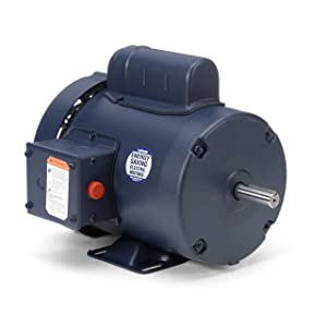 Leeson Pressure Washer Duty Electric Motor -3/4 HP, 3,450 RPM, 115/208-230 Volts, Single Phase, Model Number 110108