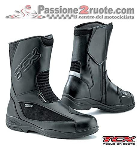 Stivali moto Tcx Explorer Evo Gore tex nero 42: Amazon.it