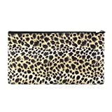 Best  - Zodaca Small Travel Cosmetic Bag, Brown Leopard Review