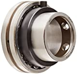 SKF 476210-115 B Spherical Roller Bearing Insert, Open, Unsealed, Setscrew Locking, Regreasable, Steel, 1-15/16'' Bore, 90mm OD, 23mm Outer Ring Width, 18000lbf Dynamic Load Capacity