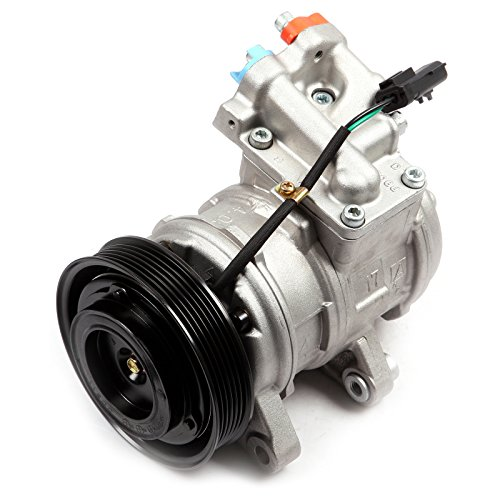 SCITOO Compatible with AC Compressor and A/C Clutches Kit CO 22034C Auto Repair Compressor Assembly for Grand Cherokee Jeep Wrangler TJ 4.0L ()