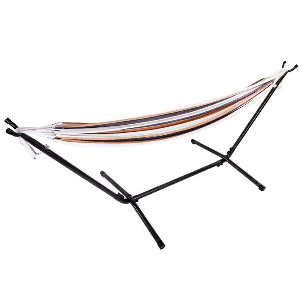 Ksruee Portable Hammock Stand Outdoor Patio Heavy Duty Coated Steel Tube Frame with Hooks by Ksruee (Image #5)