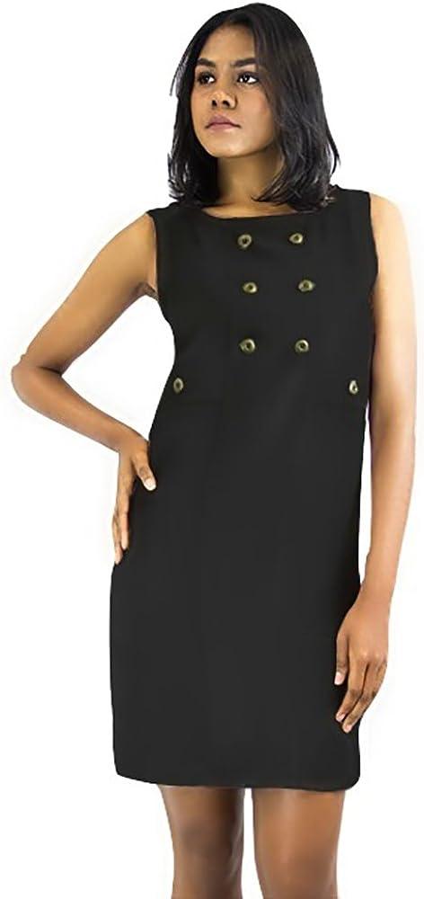 Cute As a Button Custom Dress