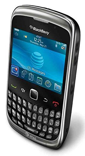 BlackBerry Curve 3G 9300 Gray WiFi Unlocked GSM QuadBand Cell Phone ()
