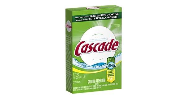 Amazon.com: Cascada lavaplatos detergente 45-ounce en polvo ...