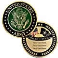 PinMart Military U.S. Army Custom Engraved Personalized Challenge Coin Gift by PinMart