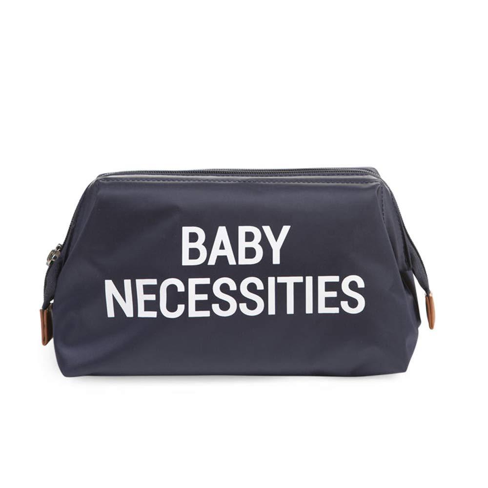 BABY NECESSITIES Sac à nécessaire de toilette Sac à cosmétiques en bleu navy Childhome