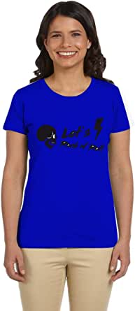 PTB W-NK266 T-Shirts Printed Short Sleeve For Women