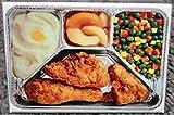 Fried Chicken TV Dinner 2 x 3 Refrigerator Locker MAGNET Retro Swanson Food
