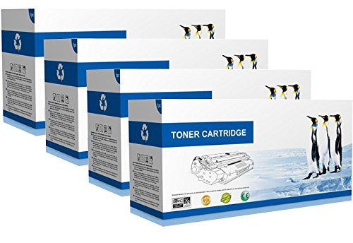 Print 5400 Phaser Cartridge (Supply Spot Compatible Xerox 113R00495 Toners '4 Pack')