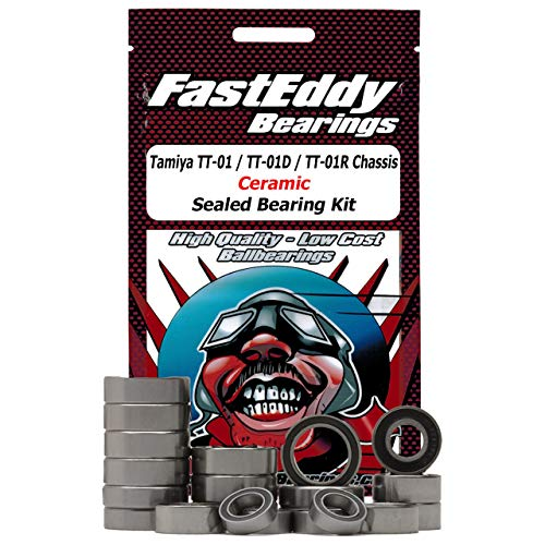 Tamiya TT-01 / TT-01D / TT-01R Chassis Rubber Ceramic Sealed Bearing Kit