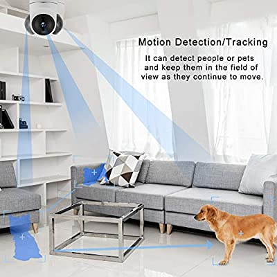 1080P Baby Monitor, Avstart Home Wireless Security Camera with Baby Crying Motion Detection, Night Vision, Two-Way Audio, Indoor Surveillance IP Camera for Baby/Elder/Pet/Nanny Monitoring ...