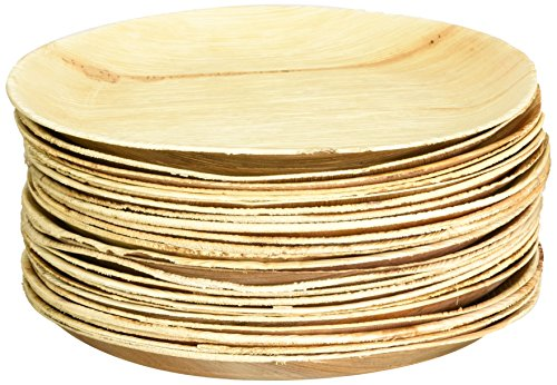 Leafware Round Plates (25 Pack), 9