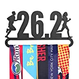 Gone For a Run 26.2 Running Medal Display | Runner's Race Medal Hanger by