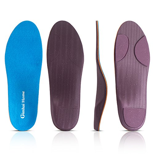 Orthotics Arch Support Shoes Insoles/Inserts for Pronation,Supination,Flat Feet,Plantar Fasciitis,Heel Pain,Foot Pain,Bunion for Men and Women (US Men(4-4.5)-Women(6-6.5)-9.06''-230MM) by GIMHAI HOME