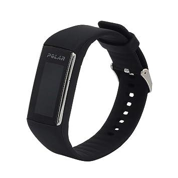 Pulsera Kobwa Polar, de silicona, para reloj de pulsera, banda de repuesto, para Polar A360/A370, color Negro: Amazon.es: Deportes y aire libre