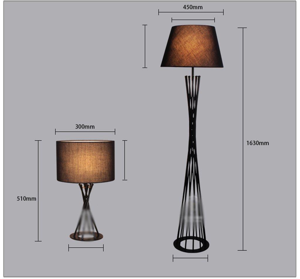 GYP Moderne minimalistische kreative Design Eisen Schlafzimmer Bedside Esszimmer Esszimmer Esszimmer Wohnzimmer Studie Zimmerdecke Lampe Tischlampe Stehleuchte ( Farbe   B ) B077RSSG58 | Große Klassifizierung  ea0402