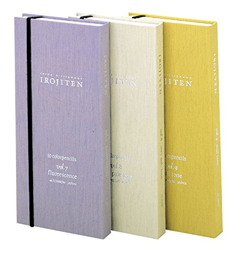 Tombow 3-Pack Irojiten Color Dictionary Wooden Pencil Bundle Set , Series 1 ( CI-RTA-30C ) & 2 ( CI-RTB-30C ) & 3 ( CI-RTC-30C ) 30 Colors x 3 ( Total 90 ) (D-SET) by Tombow (Image #7)