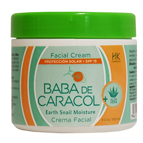 Price comparison product image Baba de Caracol Facial Moisturizing Cream aloe vera 3.5 oz