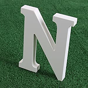 Amazoncom smartcoco diy wooden large size hight 15 cm for Large wooden letters amazon