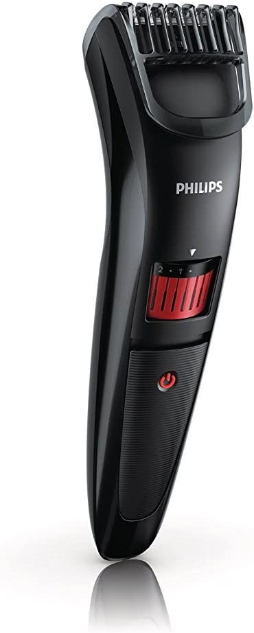 Philips BEARDTRIMMER Series 3000 QT4005/13 depiladora para la barba - Depiladoras para la barba (3,2 cm, 35 min, AAA Ni-MH, 10 h): Amazon.es: Hogar