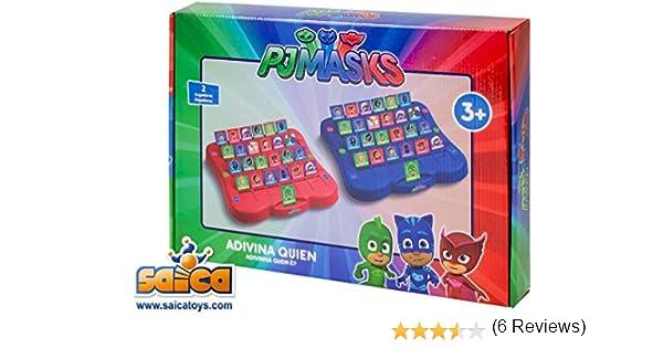 PJ Masks Adivina Quién, Juego de Mesa (Amijoc 2970): Amazon.es: Juguetes y juegos