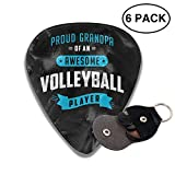 Best Fender-guitar-players - morjar Classic Guitar Pick (6 Packs) Awesome Volleyball Review