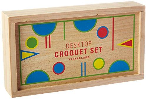 Kikkerland Desktop Croquet ()