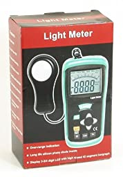 Ruby Electronics DT-1308 400K Lux Digital 4-digit LCD Light Meter Lux-fc foot-candle Luxmeter NEW