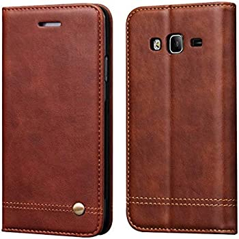 Galaxy J2 Prime Case,Galaxy Grand Prime Case,RUIHUI Leather Wallet Folding Flip Protective Case Cover with Card Slots,Kickstand,Magnetic Closure for ...
